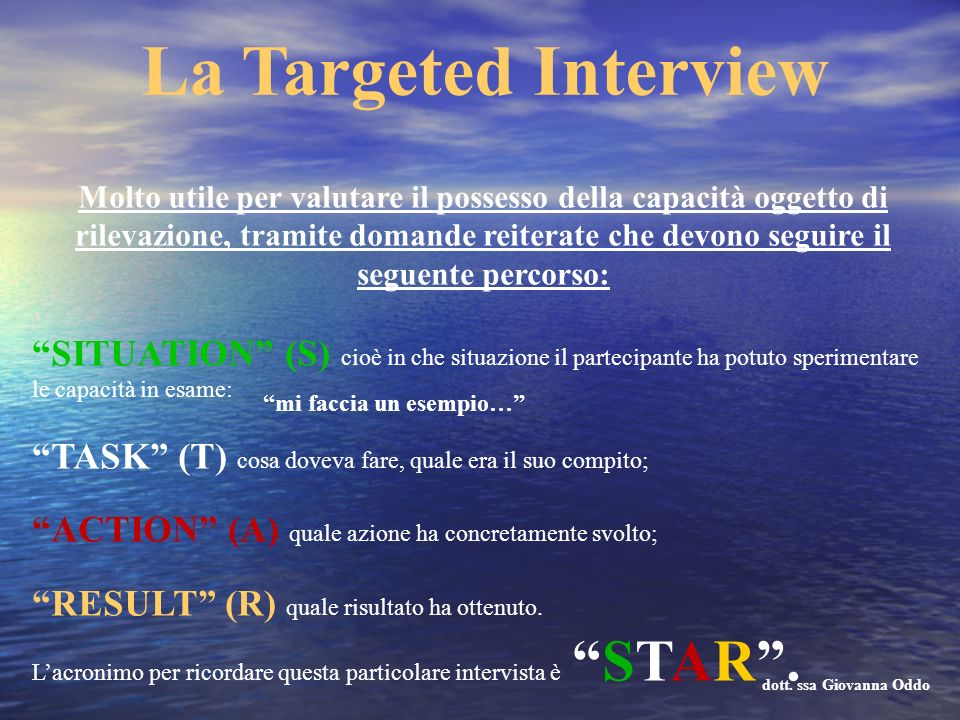 La Targeted Interview