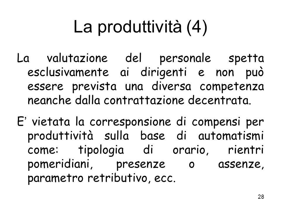 La produttività (4)