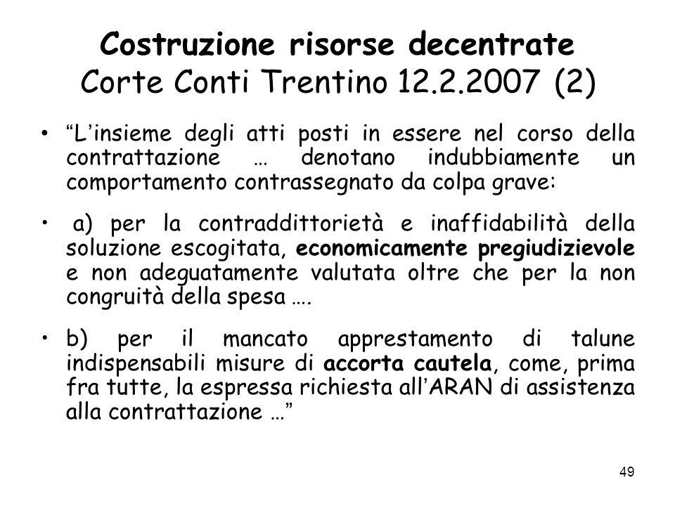 Costruzione risorse decentrate Corte Conti Trentino 12.2.2007 (2)