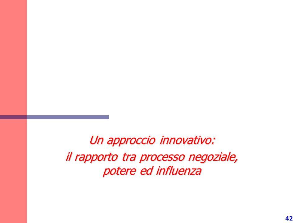 Un approccio innovativo: