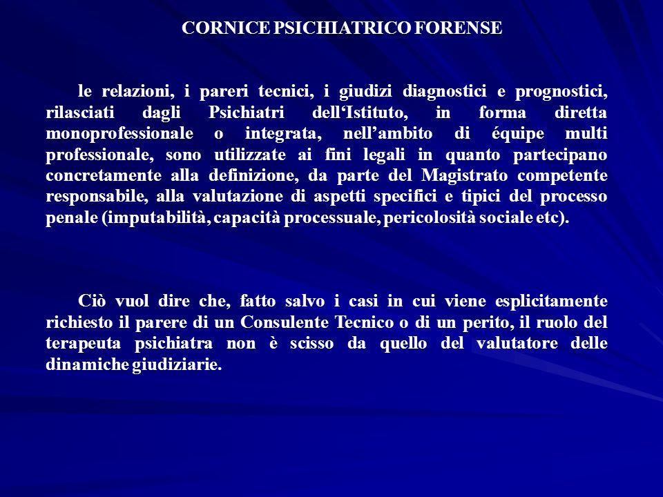 CORNICE PSICHIATRICO FORENSE