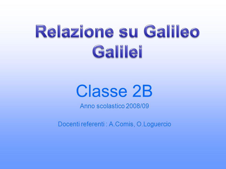 Relazione su Galileo Galilei