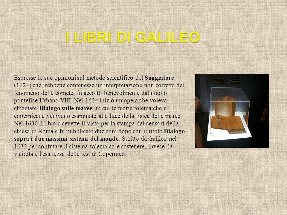 I LIBRI DI GALILEO