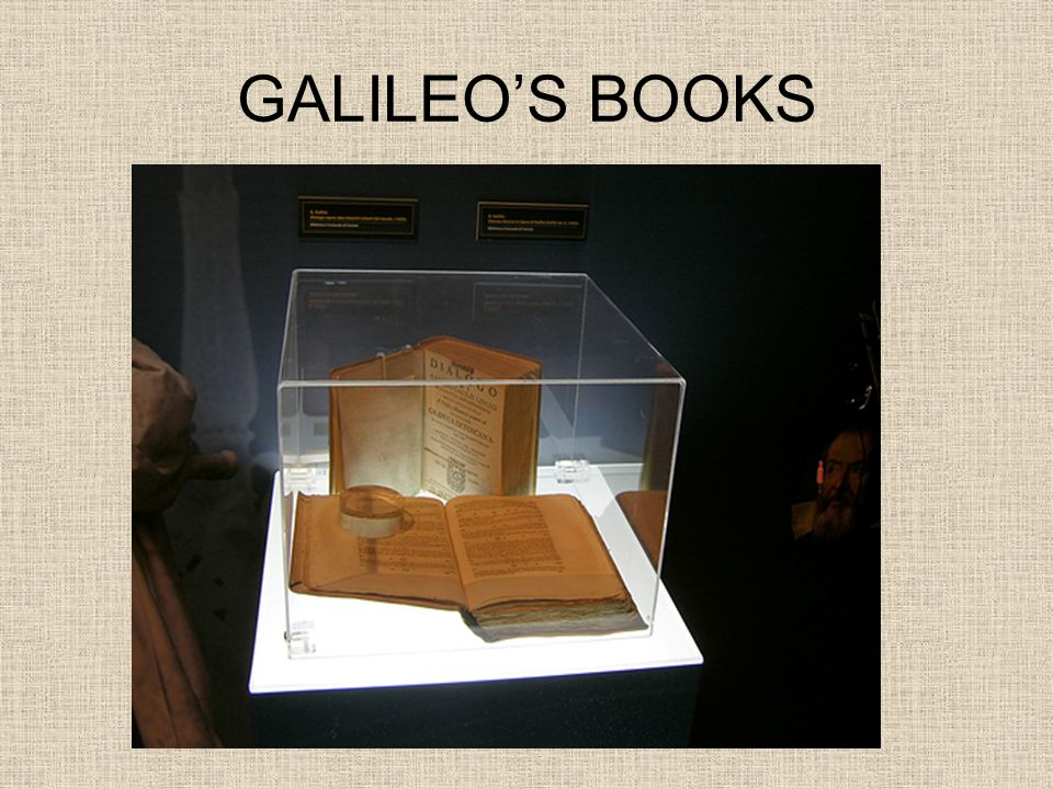 GALILEO'S BOOKS