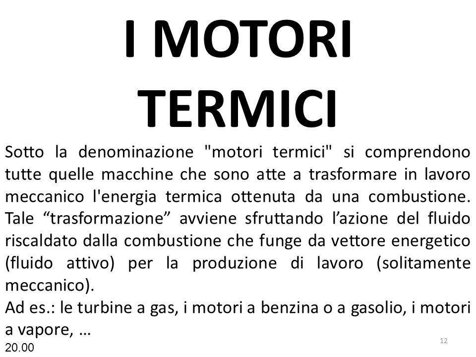 I MOTORI TERMICI