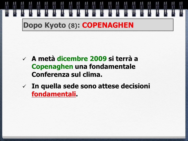 Dopo Kyoto (8): COPENAGHEN