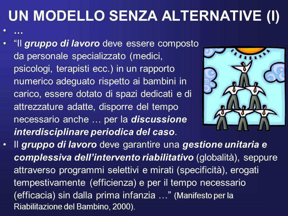 UN MODELLO SENZA ALTERNATIVE (I)