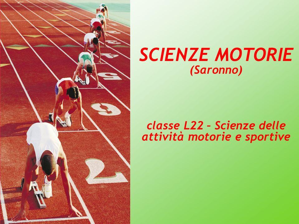 classe L22 – Scienze delle attività motorie e sportive