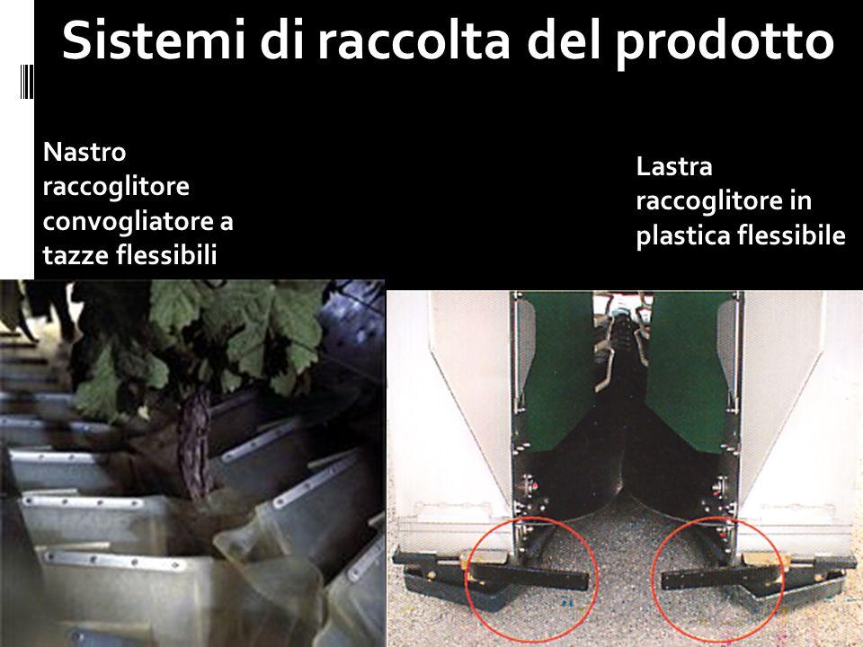 Sistemi di raccolta del prodotto