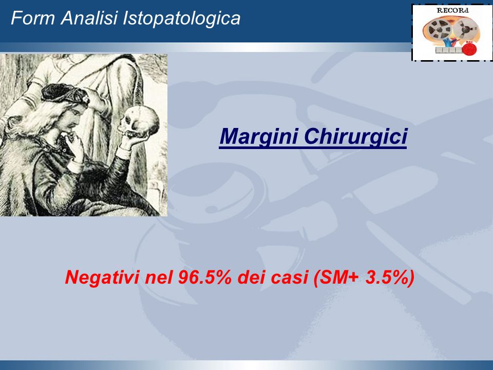 Form Analisi Istopatologica