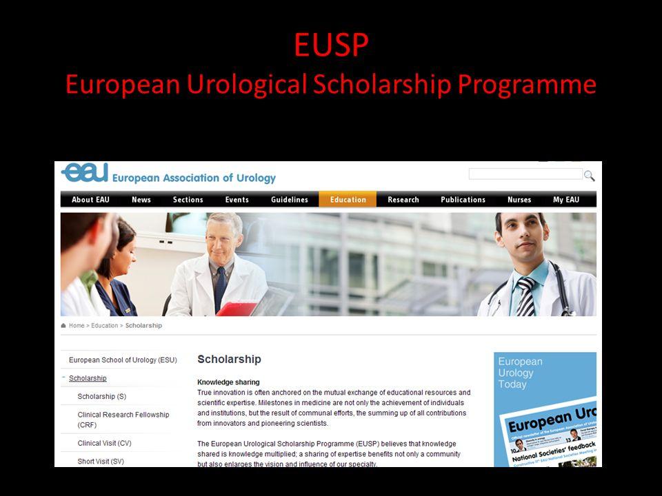 EUSP European Urological Scholarship Programme