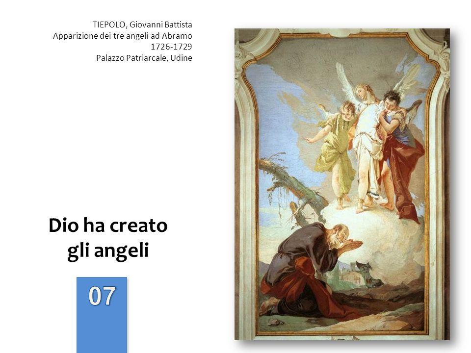 Dio ha creato gli angeli