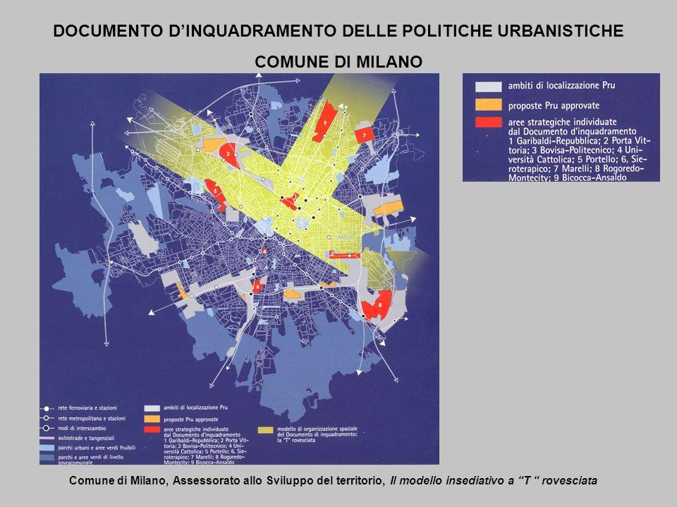 DOCUMENTO D'INQUADRAMENTO DELLE POLITICHE URBANISTICHE