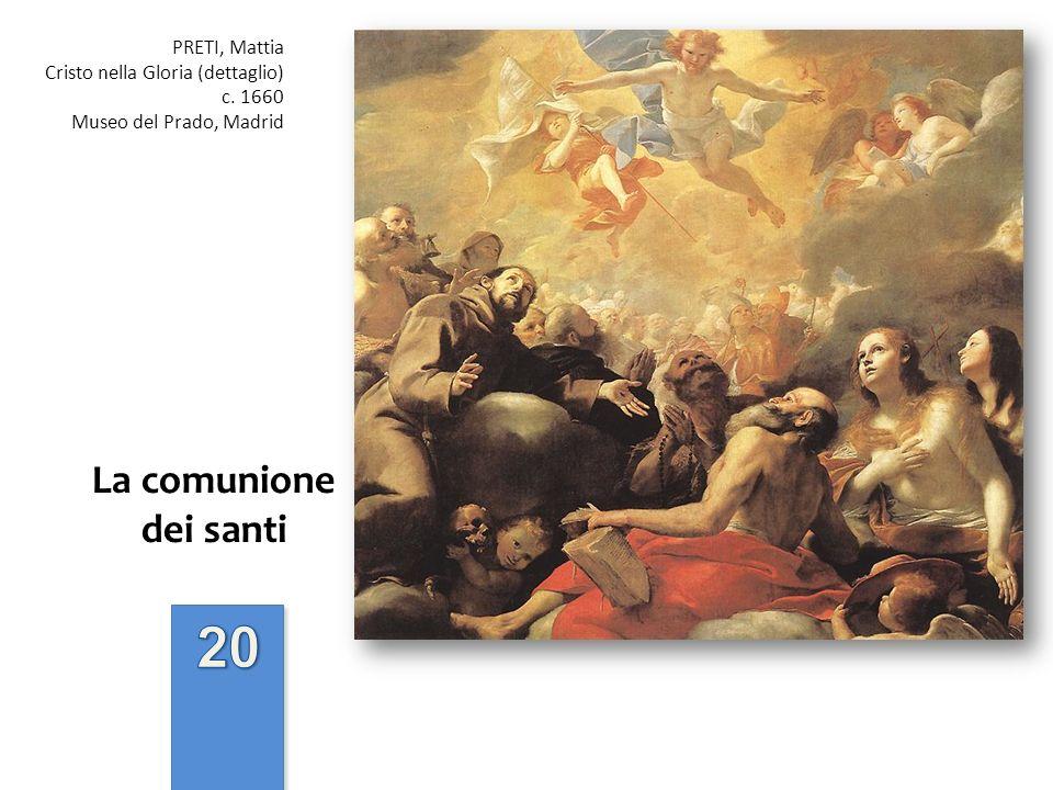 20 La comunione dei santi PRETI, Mattia
