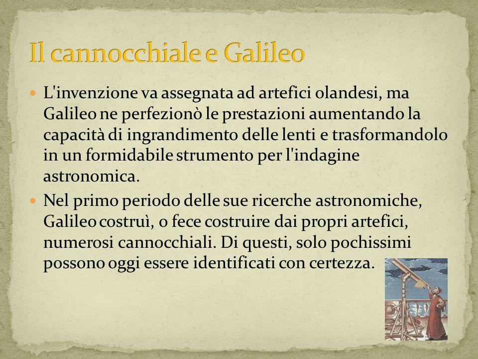 Il cannocchiale e Galileo