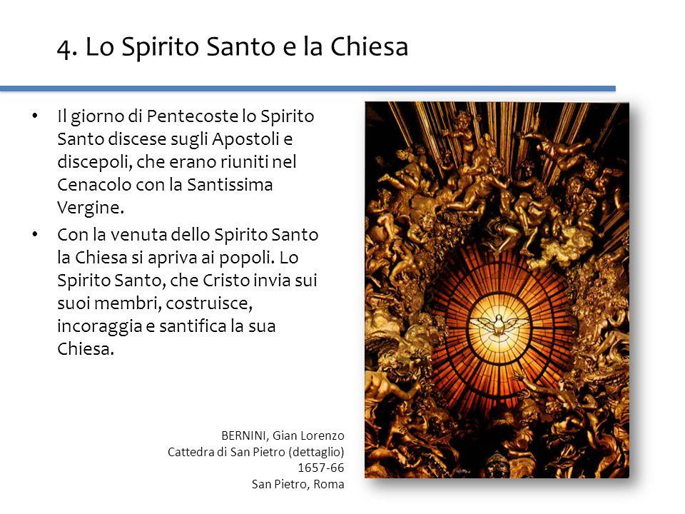 4. Lo Spirito Santo e la Chiesa