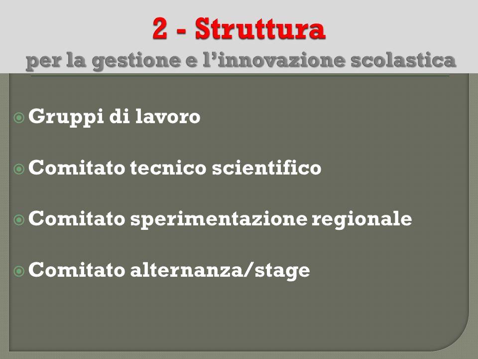 2 - Struttura per la gestione e l'innovazione scolastica