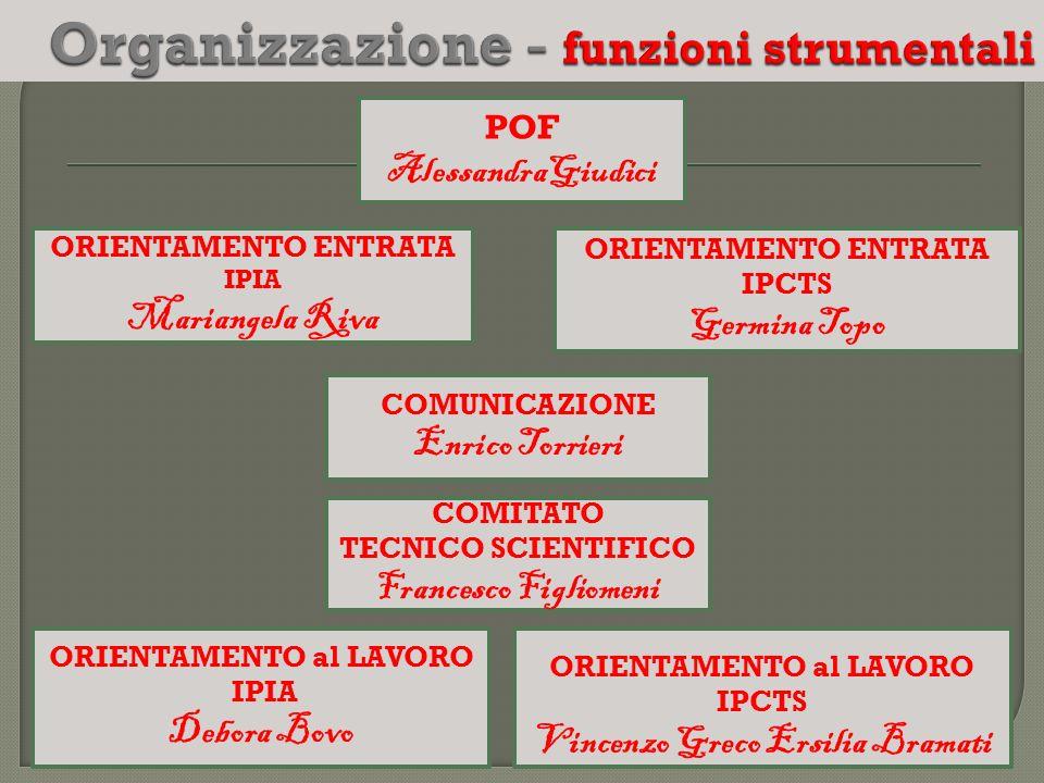 Organizzazione - funzioni strumentali