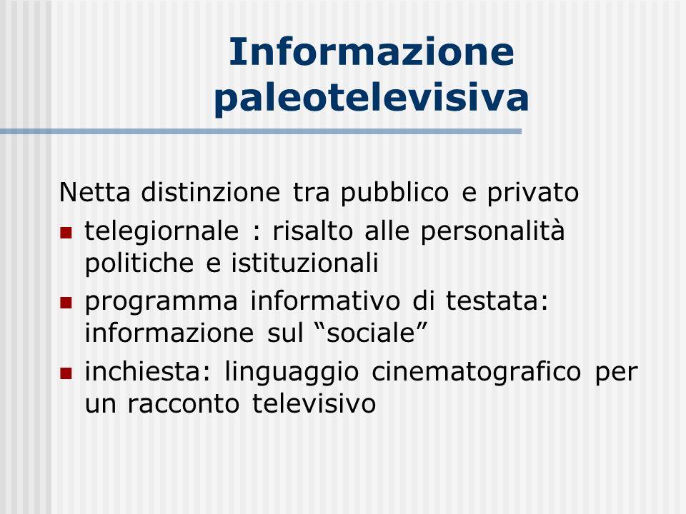 Informazione paleotelevisiva