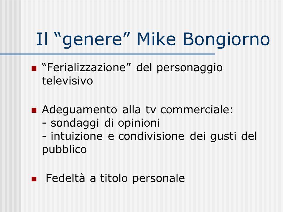 Il genere Mike Bongiorno