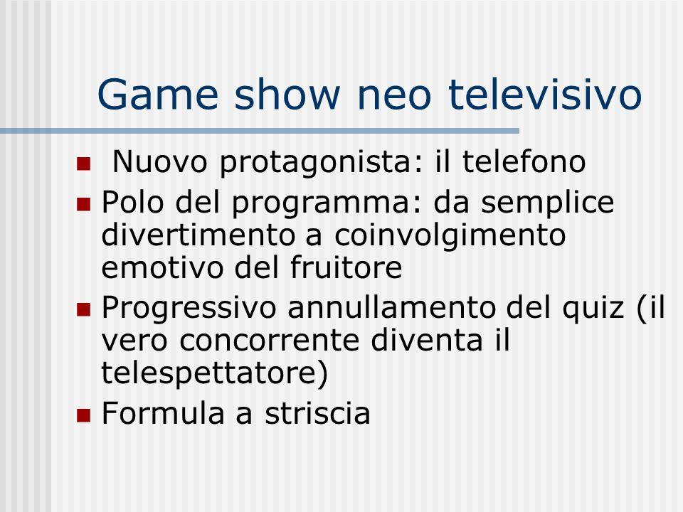 Game show neo televisivo
