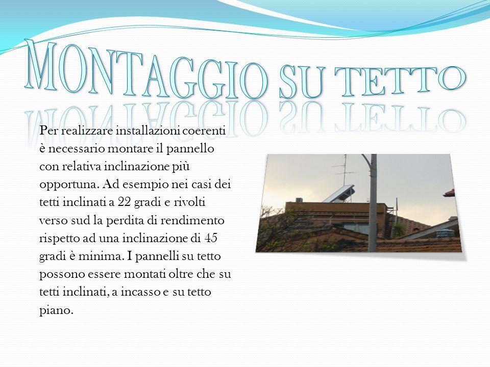 MONTAGGIO SU TETTO