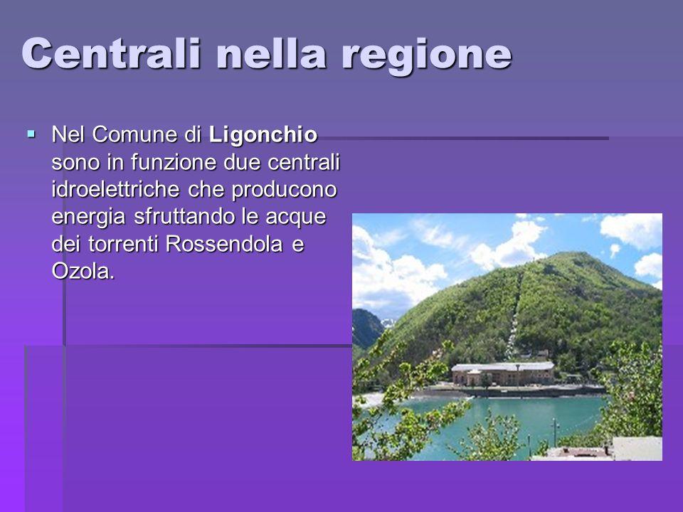 Centrali nella regione