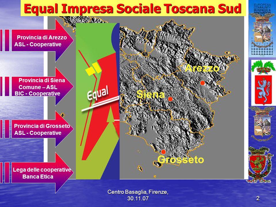 Equal Impresa Sociale Toscana Sud