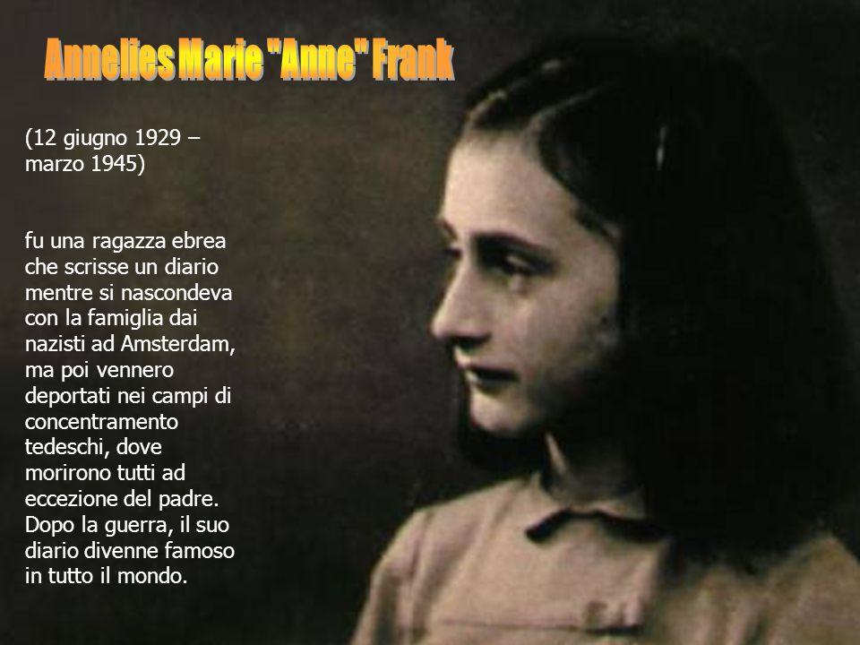 Annelies Marie Anne Frank