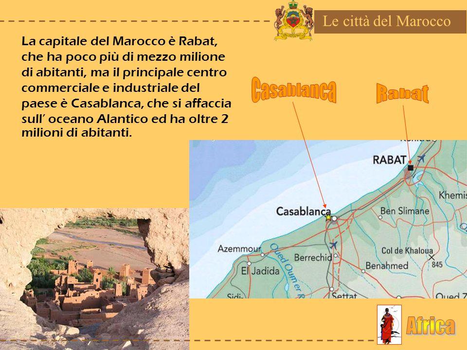 Casablanca Rabat Africa Le città del Marocco