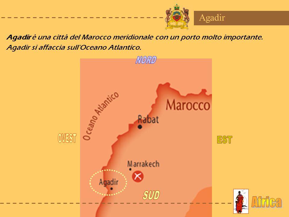 NORD OVEST EST SUD Africa Agadir