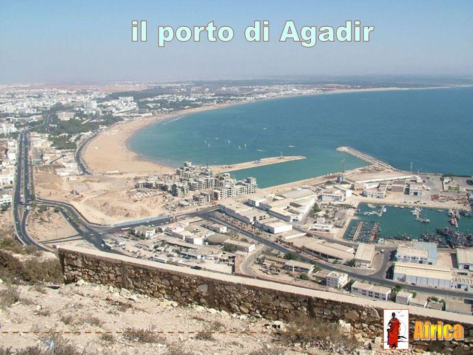 il porto di Agadir Africa