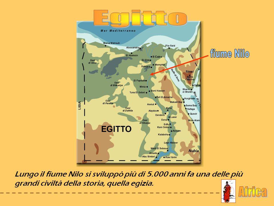 Egitto fiume Nilo Africa