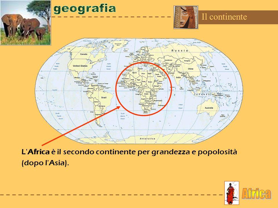 geografia Africa Il continente