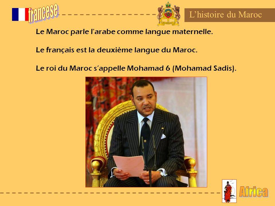 francese Africa L'histoire du Maroc