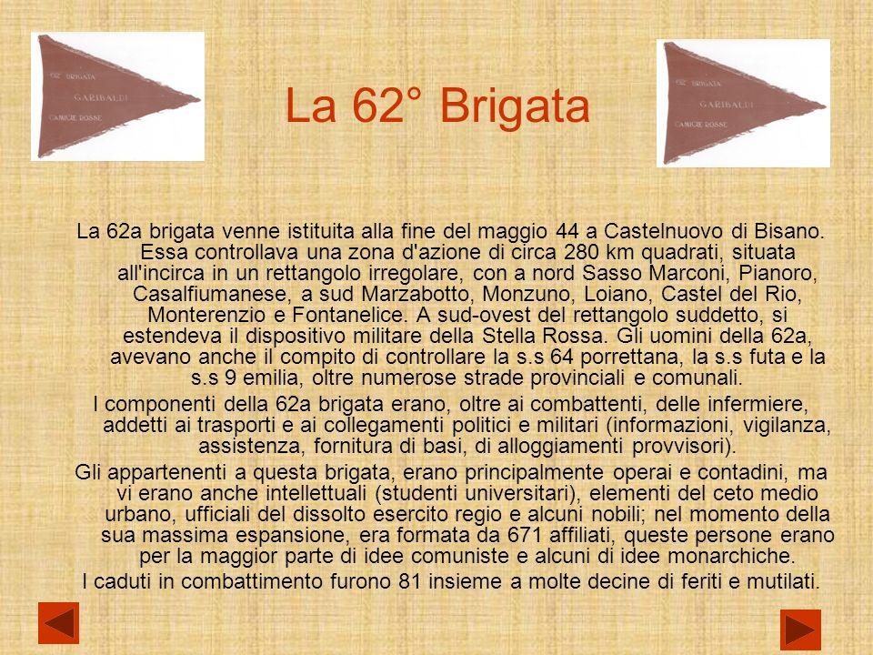 La 62° Brigata