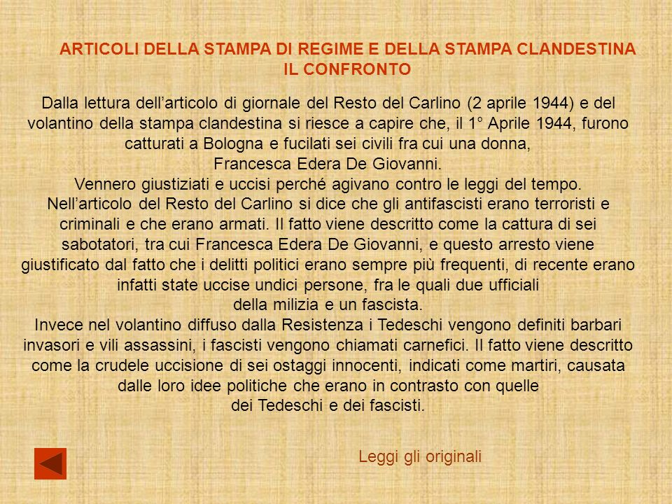 Francesca Edera De Giovanni.