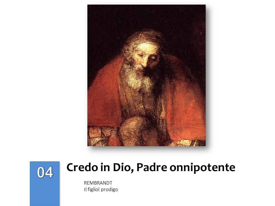 Credo in Dio, Padre onnipotente