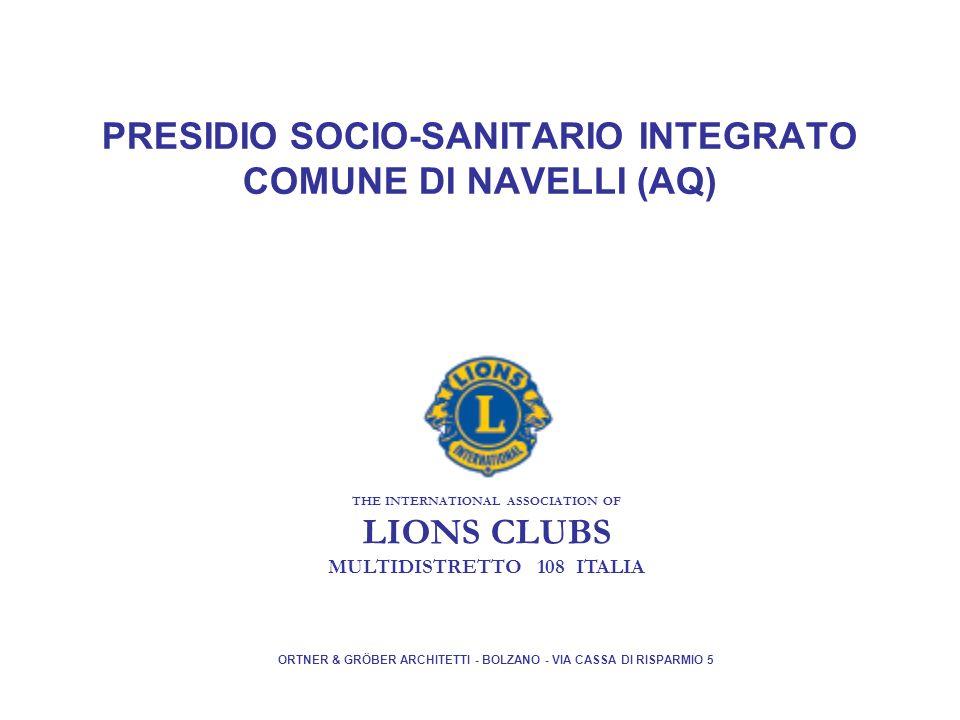 PRESIDIO SOCIO-SANITARIO INTEGRATO COMUNE DI NAVELLI (AQ)