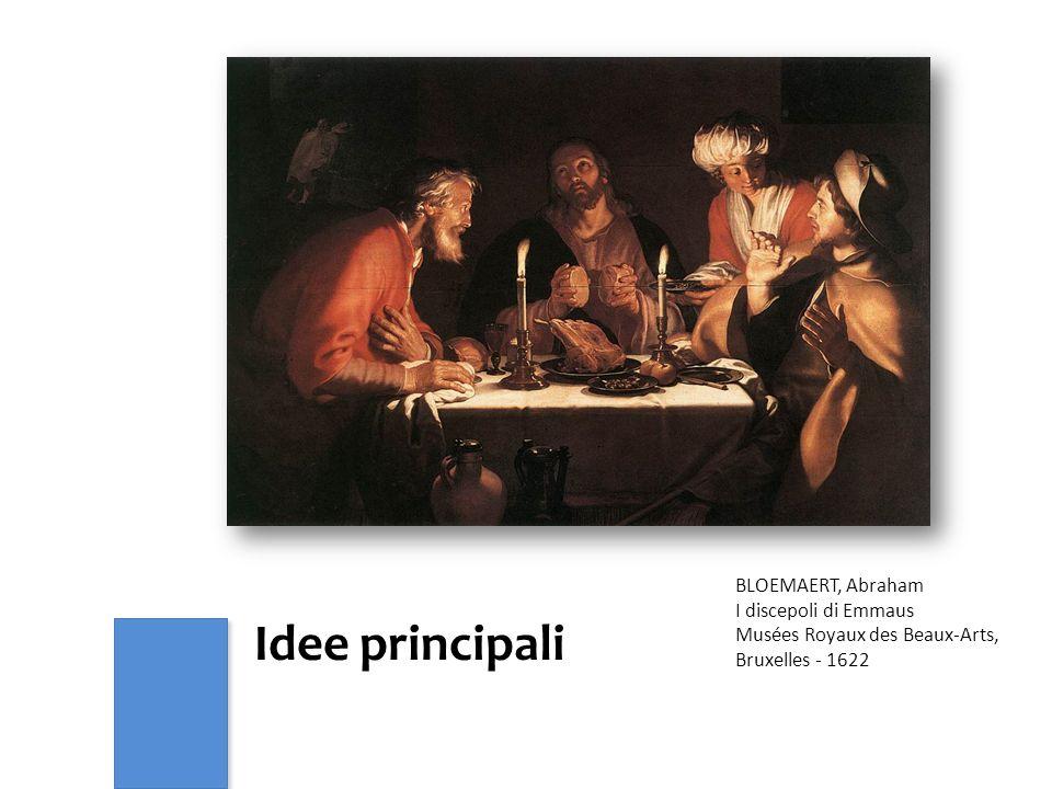 Idee principali BLOEMAERT, Abraham I discepoli di Emmaus