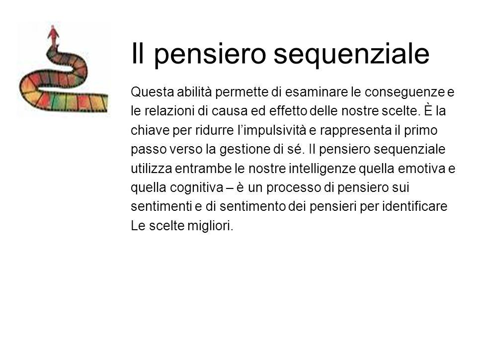 Il pensiero sequenziale