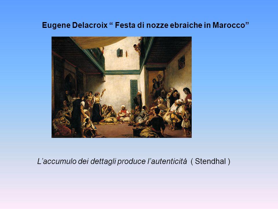 Eugene Delacroix Festa di nozze ebraiche in Marocco