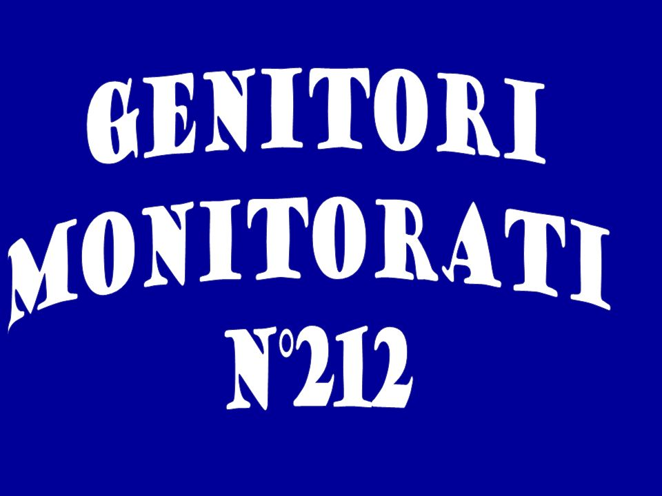 genitori MONITORATI N°212
