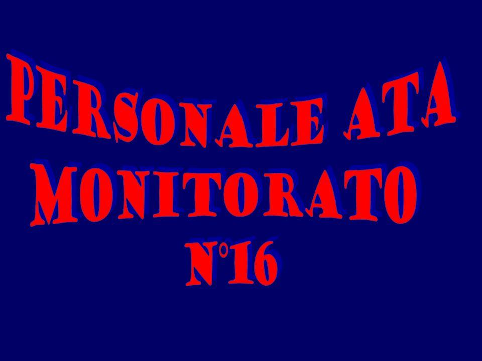 PERSONALE ATA MONITORATO N°16