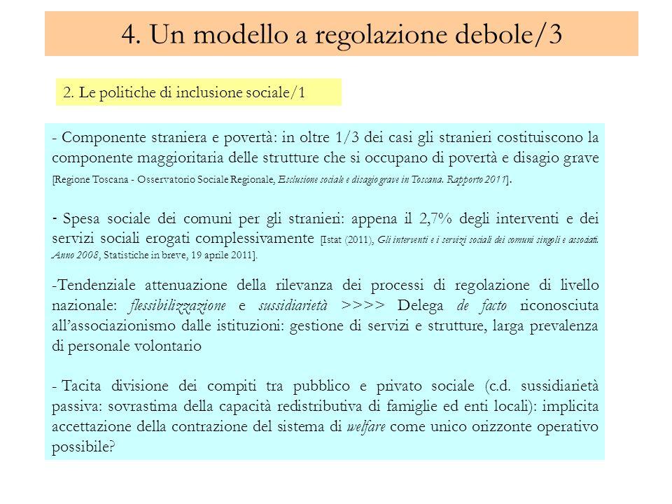 4. Un modello a regolazione debole/3