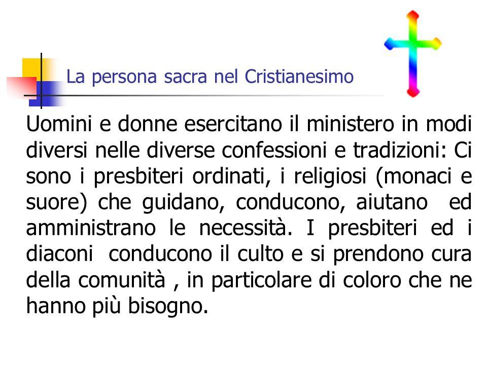 La persona sacra nel Cristianesimo
