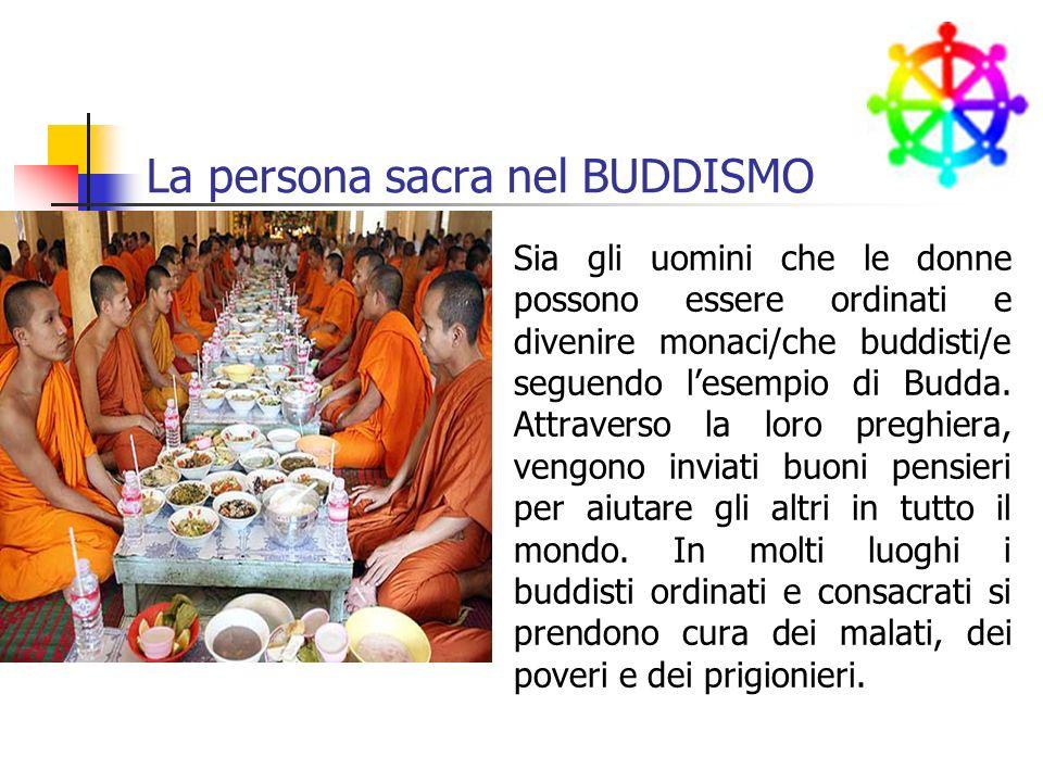 La persona sacra nel BUDDISMO