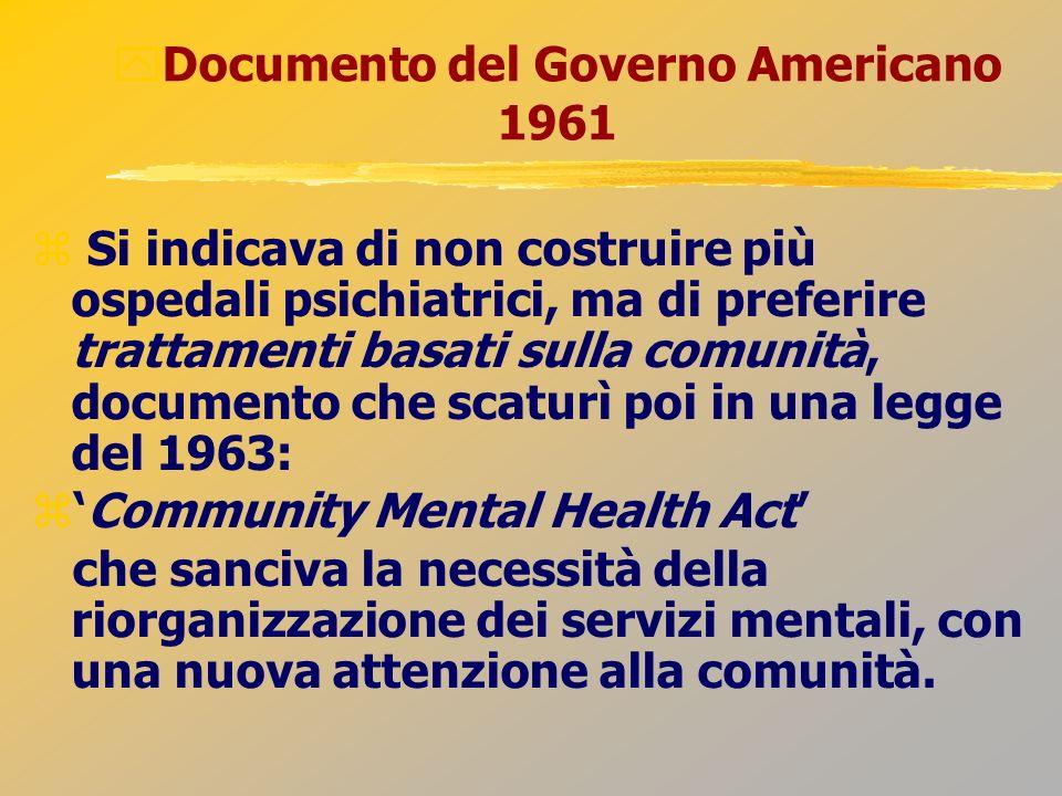 Documento del Governo Americano