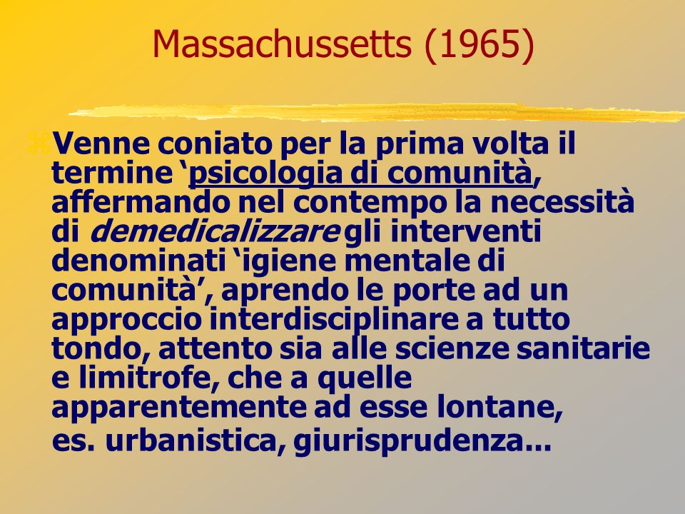 Massachussetts (1965)