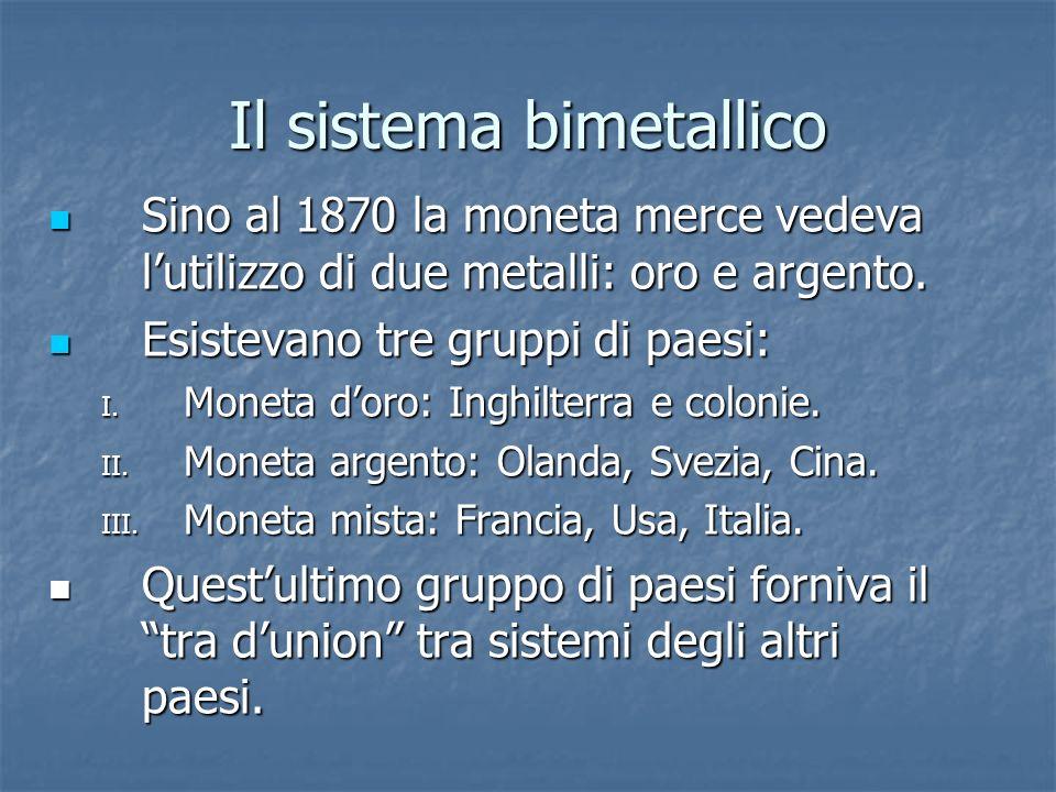 Il sistema bimetallico